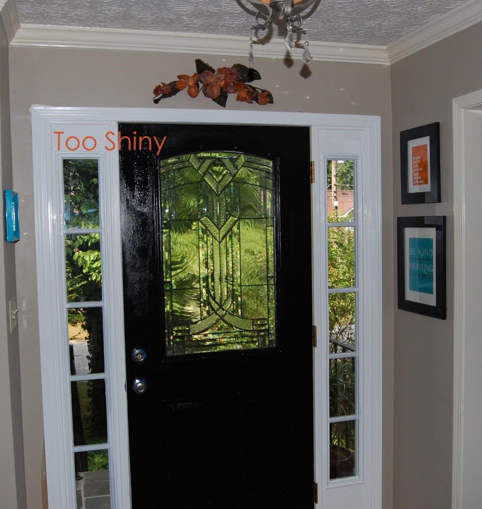 Peeling paint design ocd for Interior door paint designs