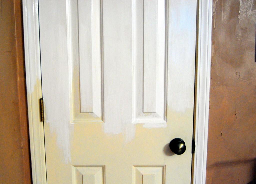 painting 6 panel doors