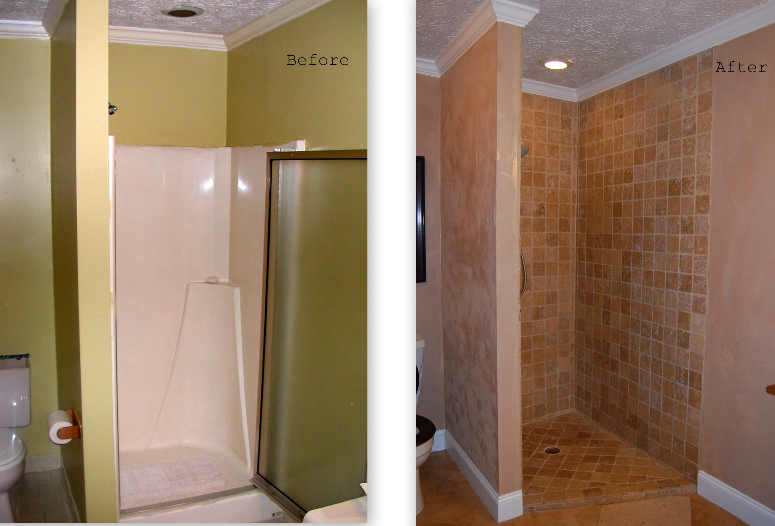 Master bathroom remodel Bathroom tile showers