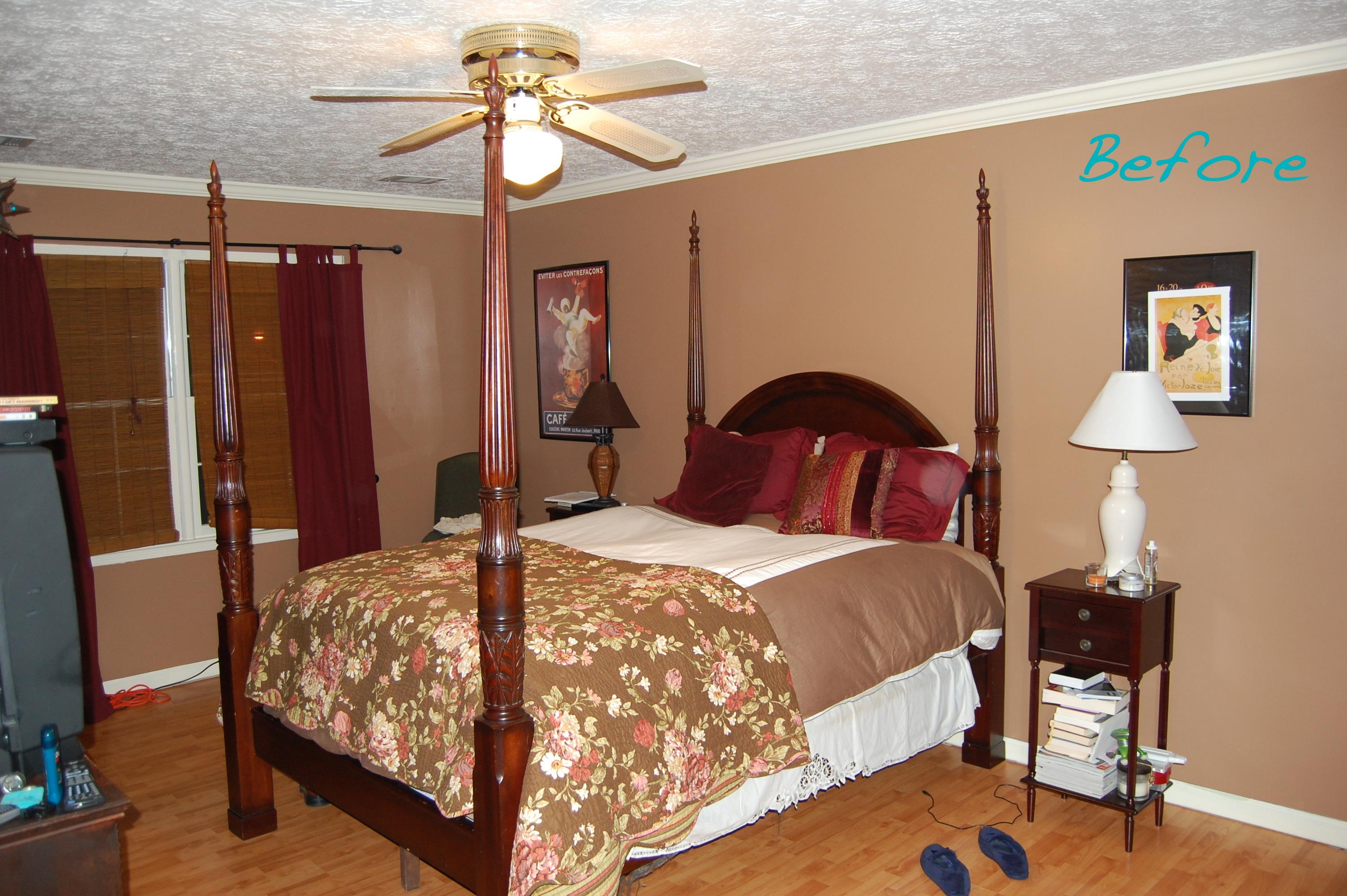 Bedroom before for Four room set design