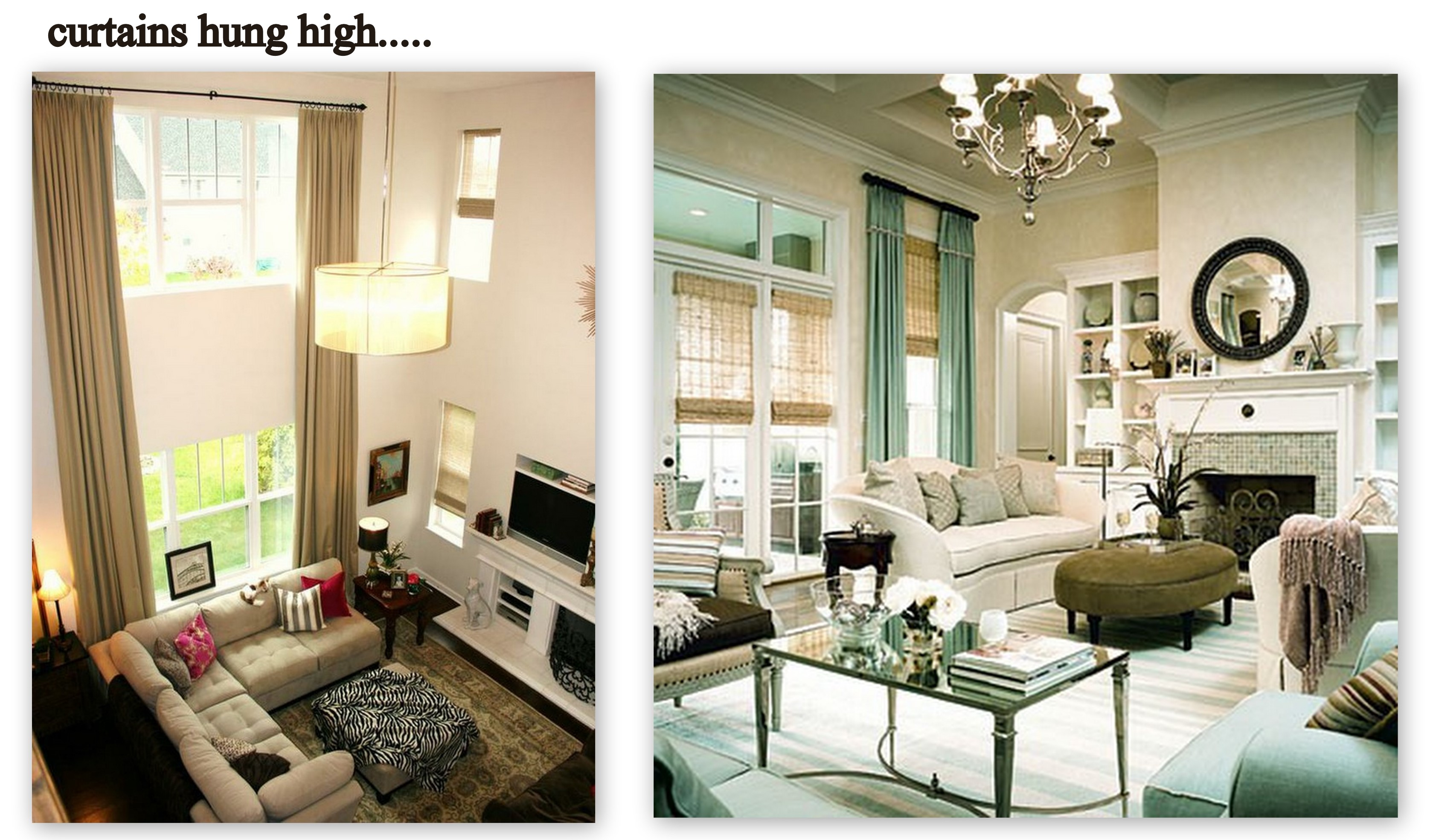 Curtains for high ceilings fair best 20 tall window High ceiling curtain ideas