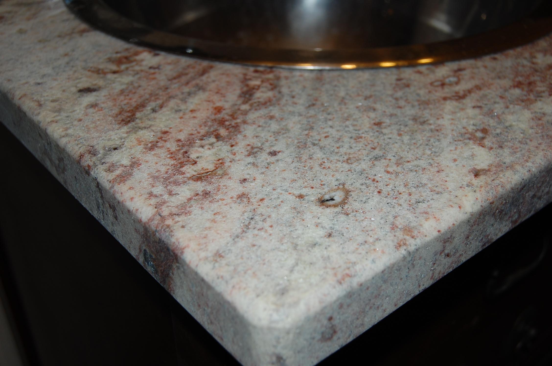 Granite bathroom countertop for Granite remnant cost per square foot