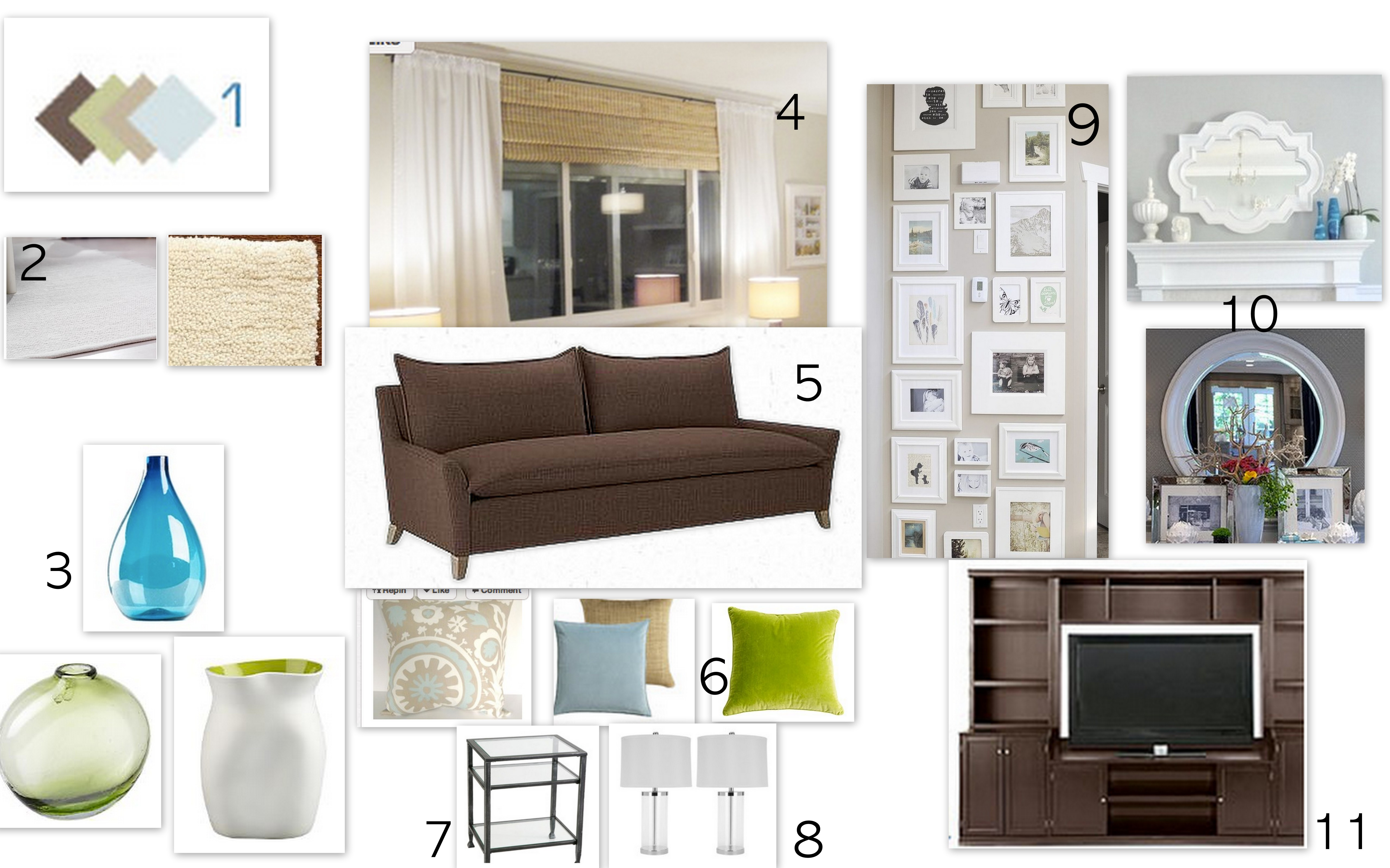 living room moodboard the