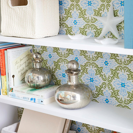 gift wrap shelves