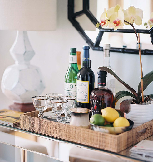Do You Like The Look And Function Of Bar Carts Have A Set Up At Home What Are Your Essentials